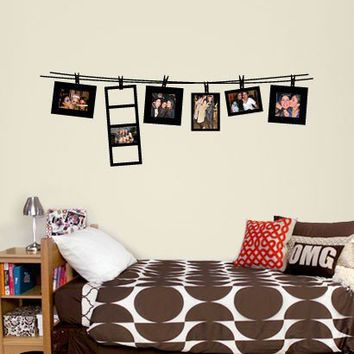Small Clothesline Frame Decal  - Decals - Wall