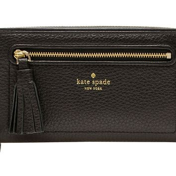 Kate Spade New York Chester Street Neda Pebbled Leather Zip Around Wallet