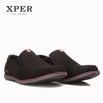 Men Flats Shoes Slip-on Breathable Moccasins Men