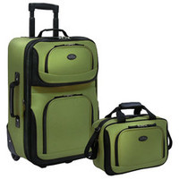 Luggage Sets - Pieces In Set: 2 Piece Sets, Color: Green | Wayfair