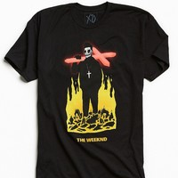 The Weeknd Crucifix Tee - Urban Outfitters