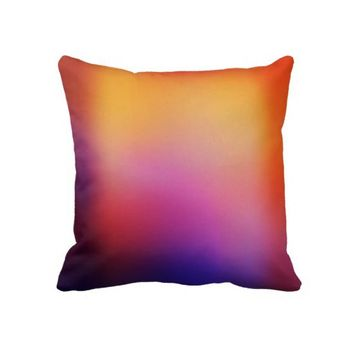 Orange Purple Yellow & Pink Modern Abstract Throw Pillow- Colorful Pillows- Home decor-modern pillows,bedroom,dorm, decor, decorative pillow