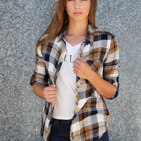 Leave It To Plaid {Olive}