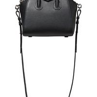 Givenchy - Antigona mini textured-leather shoulder bag