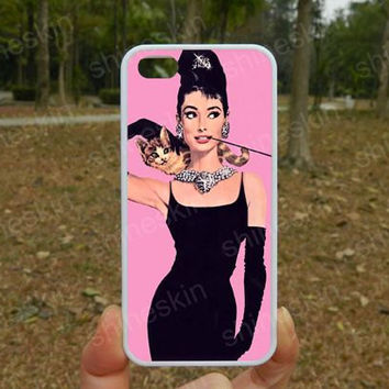 audrey hepburn,iPhone 5s case,iPhone 4/4s Case,iphone 5 case,iphone 5c case,samsung S3/S4,Personalized iPhone Case