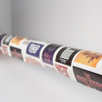 Broadway Musical Wrapping Paper