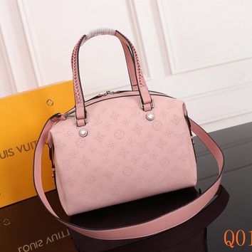 HCXX 19Aug 075 M54672 Louis Vuitton LV Mahina Asteria Tote Bag Hollow Fashion Handbag 36-22-20CM pink