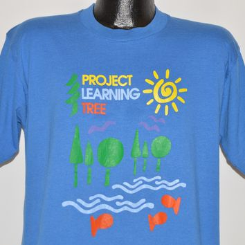 90s Project Learning Tree Double Sided t-shirt Large