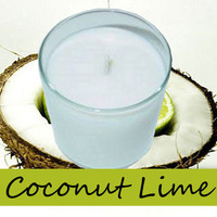 Coconut Lime Candle in Tumbler 13 oz