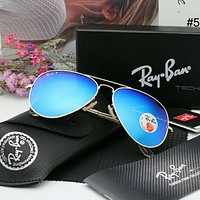 RayBan trend colorful men and women models wild pilot polarized sunglasses #5