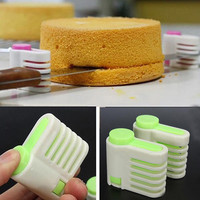 2Pcs Baking Tool Cake Layer Slicer Cutter Delaminator