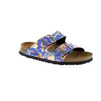 Womens Blue Birkenstock Blue rambling rose blue arizona womens sandal
