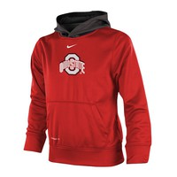 Nike Ohio State Buckeyes Therma-FIT Hoodie - Boys