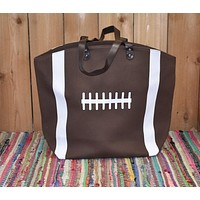 Large Football Tote
