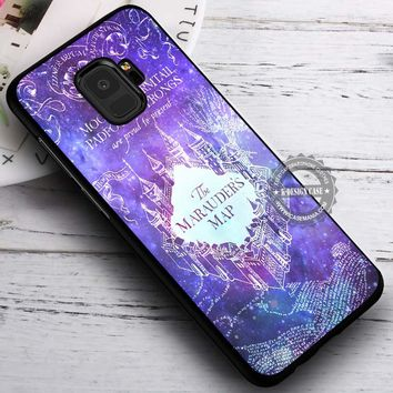 Marauders Map Nebula Galaxy Art Harry Potter iPhone X 8 7 Plus 6s Cases Samsung Galaxy S9 S8 Plus S7 edge NOTE 8 Covers #SamsungS9 #iphoneX