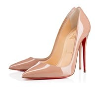 Cl Christian Louboutin So Kate Nude Patent Leather 120mm Stiletto Heel Fw13-1