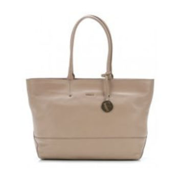 Furla Melissa Medium East West Tote with Zip Travel Tote - Caramello