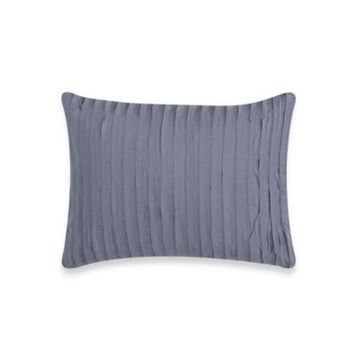 Vera Wang Gossamer Floral Breakfast Oblong Toss Pillow in Blue/Grey