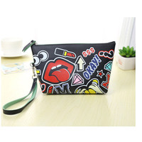 Multifunction Women's Travel Cosmetic Makeup Bag Zipper Toiletry Purse Handbag