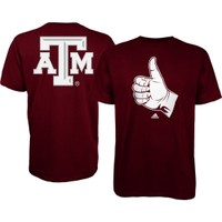adidas Men's Texas A&M Aggies Maroon Hand Sign T-Shirt | DICK'S Sporting Goods