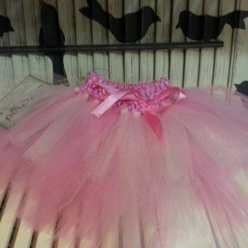 Tutu Skirt Pale Pink Tutu Toddler Tutu Birthday Tutu