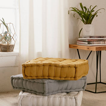 Tufted Corduroy Floor Pillow | Urban Outfitters