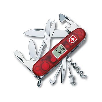 Victorinox Swiss Army Traveller Pocket Knife - Ruby - 29 Tools - 84mm