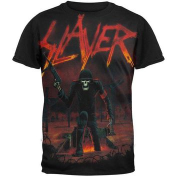 DCCKU3R Slayer - Seasons Soldier T-Shirt