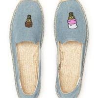 Soludos x Jason Pollan Espadrille Flats - Ice Cream | Bloomingdales's