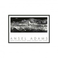 """Frames By Mail Range Clouds Framed Print by Ansel Adams - 24"""" x 36"""" - 3225BT-RM"""