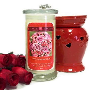 Happy Valentines Day! - Valentine's Day Jewelry Candle