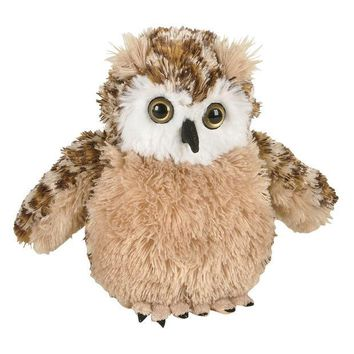 DCCKU3R Owl Perched Plush Toy