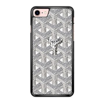 Goyard Black White iPhone 7 Case
