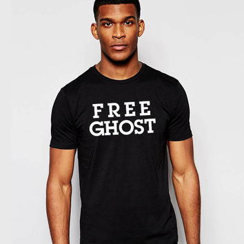 Free Ghost Unisex T shirt