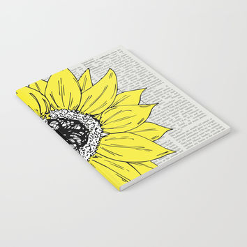 Big Sunfower Notebook by JustV