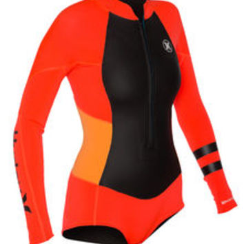 Fusion 202 Front Zip Spring Suit - Women's Wetsuits | Hurley