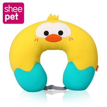 Sheepet New Chicken Cat Stuff Plush U Shaped Neck Pillow Toy Doll Birthday Gift Collection