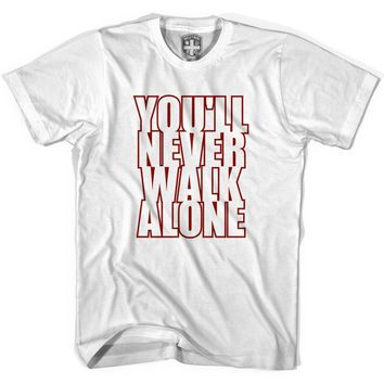 You'll Never Walk Alone Stacked T-shirt