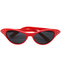 Red Amy Blue Sunnies