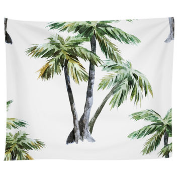 Tropical Palms Tapestry