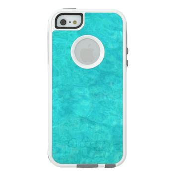 Blue Water Color OtterBox iPhone 5/5s/SE Case