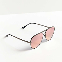 Quay X Desi Perkins High Key Aviator Sunglasses | Urban Outfitters
