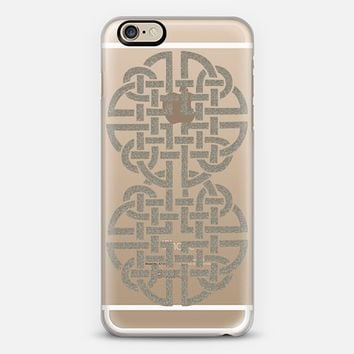Celtic 2 Silver iPhone 6 case by Alice Gosling | Casetify