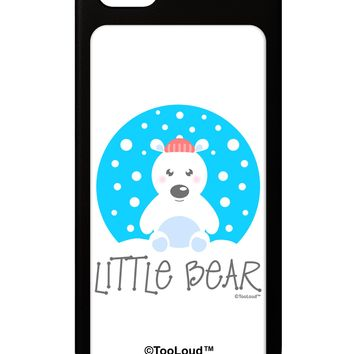 Matching Polar Bear Family - Little Bear iPhone 5 / 5S Grip Case  by TooLoud