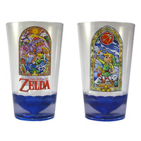 The Legend of Zelda: Wind Waker Stained Glass Acrylic Cup