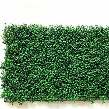40x60cm Green Grass Artificial Turf Plants Garden Ornament Plastic Lawns Carpet Wall Balcony Fence For Home Decor Decoracion