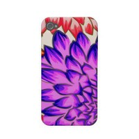 Bright Flower iPhone 4/4S Cover Case-mate Iphone 4 Case from Zazzle.com
