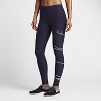 The Nike Power Legend Women's Mid Rise Training Tights.