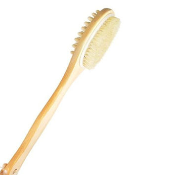 Body Brush--natural bath Benefits Soft Bristle for Dry Clarisonic Skin- Scrub Care Brushing and Cleaning Facial Skin--protect Your Investment--best Lifetime Guarantee
