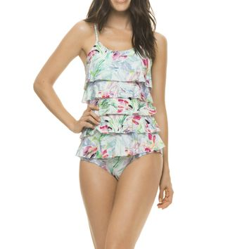 Estivo Acquagarden Ruffled One Piece Swimsuit